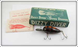 Fishathon Bait Mfg Crawdad Dizzy Diver In Correct Box