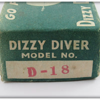 Fishathon Bait Mfg Crawdad Dizzy Diver In Correct Box D-18