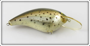 Vintage Smithwick Speckled Trout Chrome Bo Jack B-3089