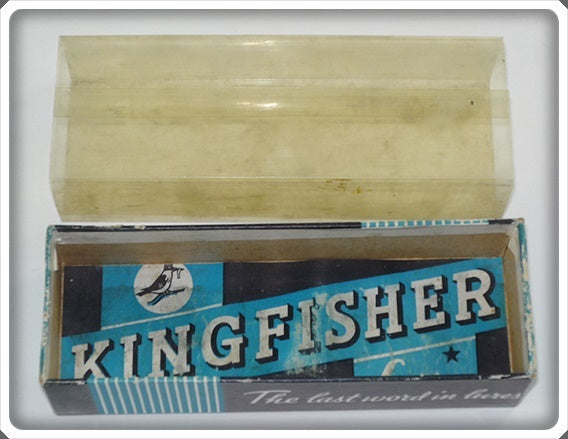 Empty Kingfisher Box Stamped 915