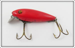 Heddon Solid Red 110 River Runt