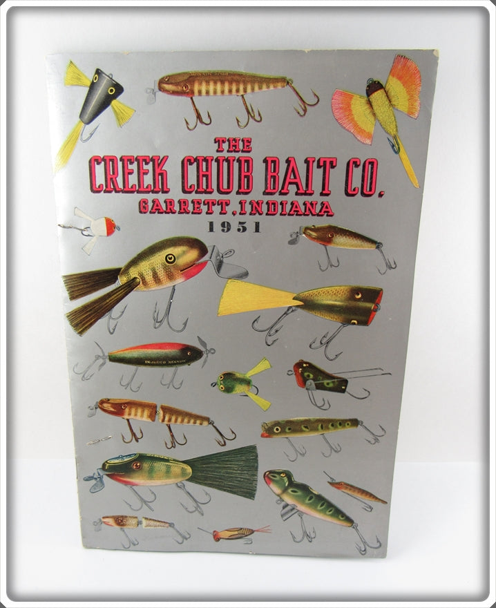 Creek Chub Bait Co 1951 Catalog