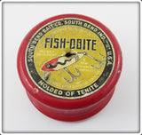 1939 Wooden Line Spool Advertising South Bend Fish Obite
