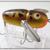 Vintage Heddon Brown Crawdad Crazy Crawler Lure 9120 BRS