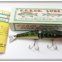 Vintage Creek Chub Frog Peter's Special Lure In Box 2619 DD Special