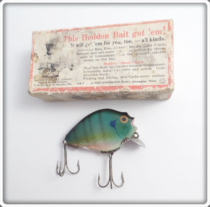 Heddon Bluegill Wooden 730 BGL Punkinseed In Box