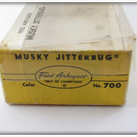 Arbogast Yellow Musky Jitterbug In Box