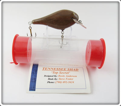 Foster Baits Boots Anderson Brown Tennessee Shad Lure In Tube