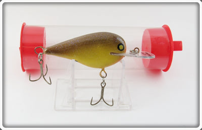 Foster Baits Brown Scale Glitter Crankbait In Tube