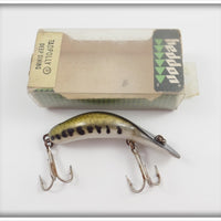 Heddon Baby Bass Tadpolly Spook In Correct Box