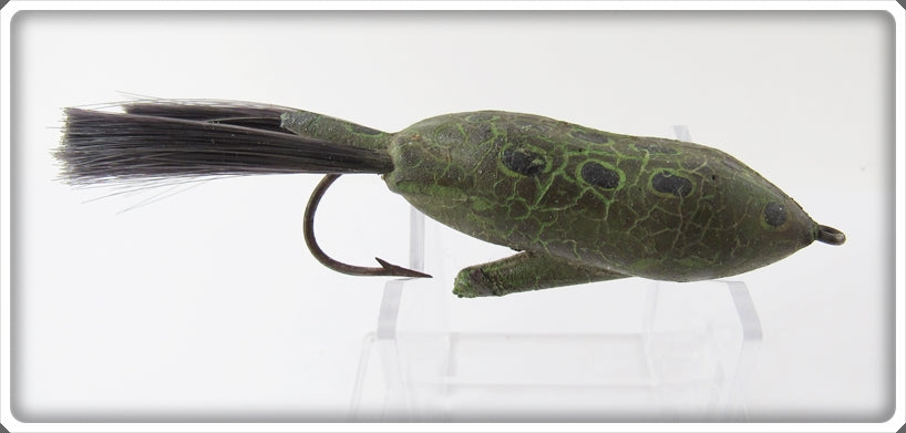Vintage Peter's Bait Co Meadow Wog Peters Frog Lure