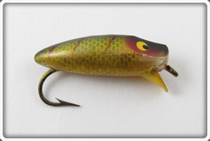 Vintage Heddon Perch Runtie Spook Lure 959L
