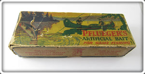 Vintage Pflueger Empty Box For Large Size Rainbow O'Boy Lure 6573