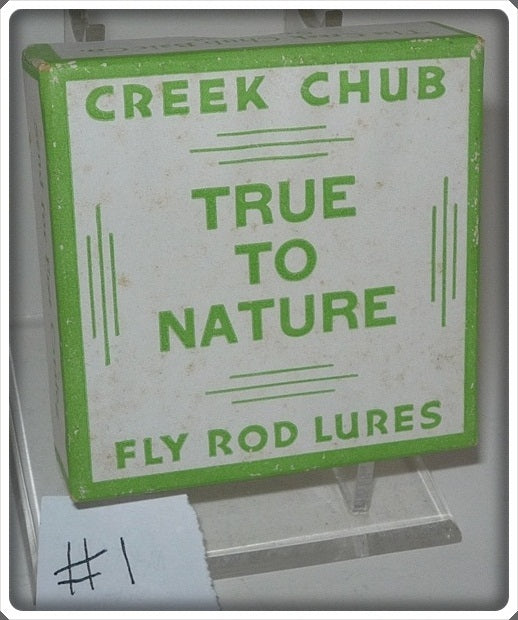 Creek Chub Empty True To Nature Fly Rod Lure Box