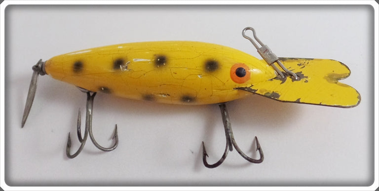 Bomber Bait Co Looboyle Special Yellow With Black Spots