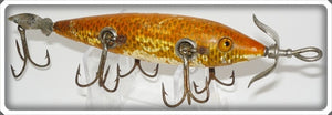 Heddon Dowagiac Goldfish 150 Five Hook Minnow 159K