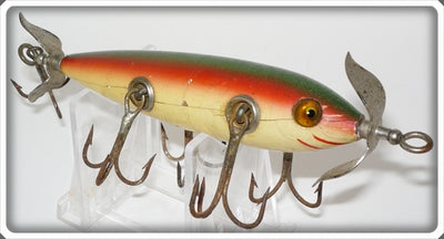 Heddon Dowagiac Rainbow 150 Five Hook Minnow 156