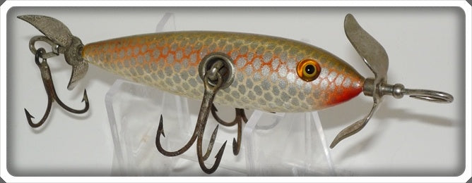 South Bend Shiner Scale Three Hook Minnow