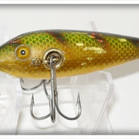 Heddon Yellow Perch 100 Three Hook Minnow