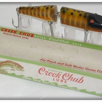 Creek Chub Pikie Scale With Black Spots Jointed Husky Pikie 3000 Special