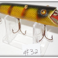 Heddon Dowagiac Bar Perch Head On Basser 8509 A