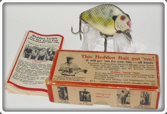Heddon Soft Spot Crappie Punkinseed In Correct Box 740 CRA