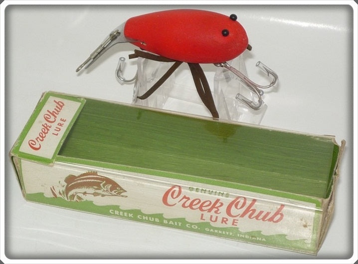 Creek Chub Flo Fluorescent Red Baby Crawdad 421