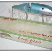 Vintage Creek Chub Mullet Jointed Striper Pikie Lure In Box 6807
