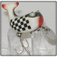 Heddon Indy 500 Checkered Flag Hi Tail