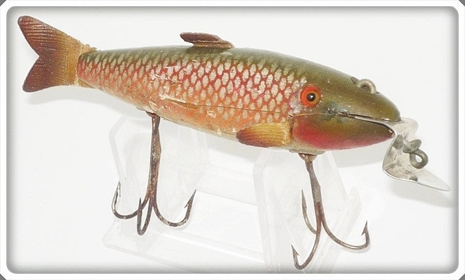 Vintage 9-27-20 C.C.B.CO. Creek Chub Redside Fintail Shiner Lure 2105