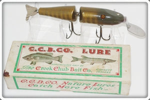Vintage CCBC Creek Chub Pikie Scale Peter's Special Lure 2600 DD