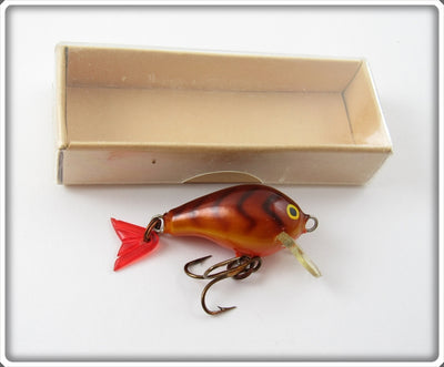 Rapala Brown Crawdad Mini Fat Rap MFR 3 In Box