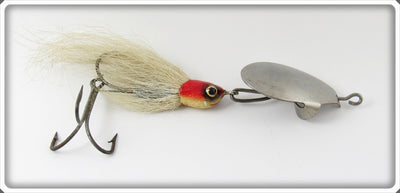 Possible Gambill Brothers Red & White Casting Lure