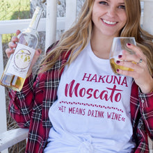 Hakuna Moscato Graphic T in White