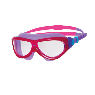 Zoggs Phantom Junior Mask - Pink/Purple/Tint - Swimming Fun