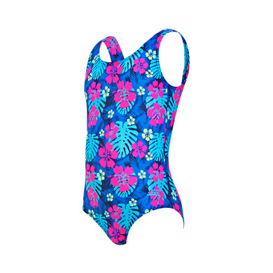 Zoggs Girls Kona Scoopback Swimsuit - Swimming Fun