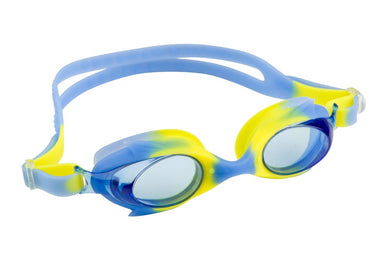 Maru Dolphin Anti Fog Junior Goggles - Blue / Yellow - Swimming Fun