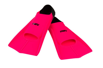 Maru  - NEW Training Fins - Neon Pink / Black - Swimming Fun