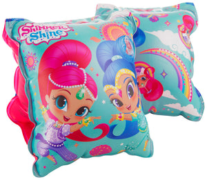 Shimmer and Shine Swimming Arm Bands - Age 3 - 6 Years - Swimming Fun
