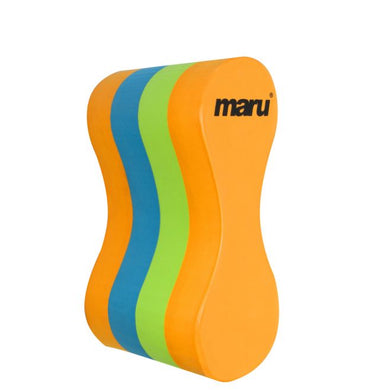 Maru  - Junior Pull Buoy - Orange / Blue / Lime - Swimming Fun