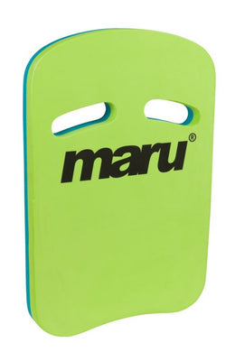 Maru Two Grip Fitness Kickboard - Lime/Blue - Swimming Fun
