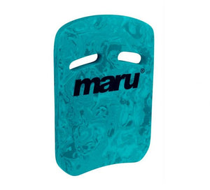 Maru Swirl Two Grip Fitness Kickboard - Dark Blue/Blue - Swimming Fun