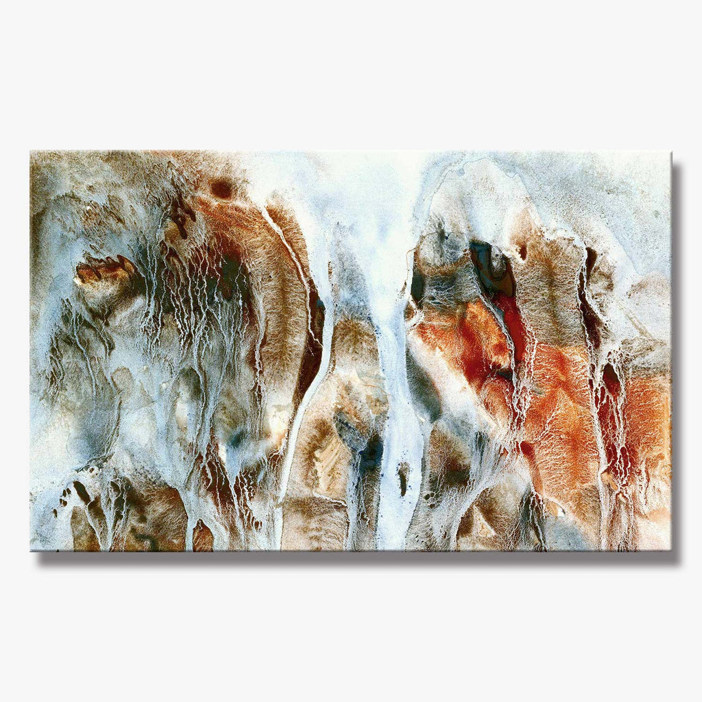 CLIFF SERIES #3015, Artist-Signed, Abstract Giclee Wall Art Print, Home Decor - Shulin Sun Studio