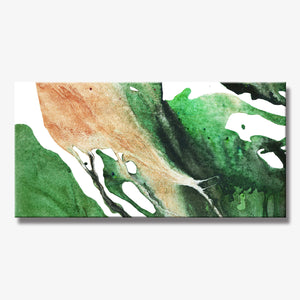 LEAVES SERIES #4001, Artist-Signed, Abstract Giclee Wall Art Print, Home Decor - Shulin Sun Studio