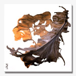 LEAVES SERIES #1004, Artist-Signed, Abstract Giclee Wall Art Print, Home Decor - Shulin Sun Studio