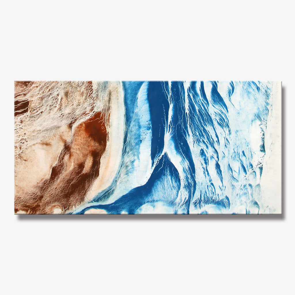 WAVE SERIES #4012, Artist-Signed, Abstract Giclee Wall Art Print, Home Decor - Shulin Sun Studio