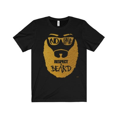 Men's Gold No Shave November Tee ( Pre Order ONLY )