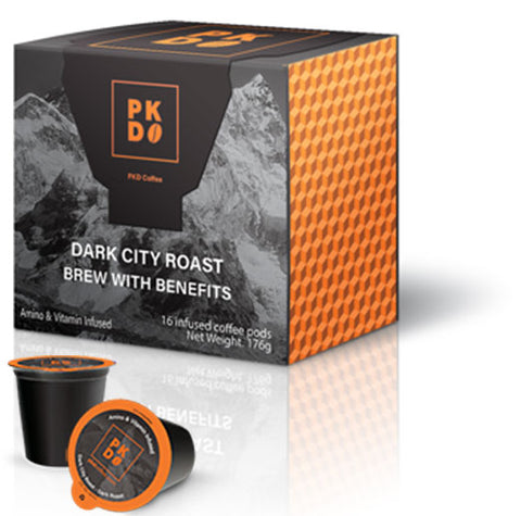 Test of Dark City Roast - Vitamin Infused Dark Roast
