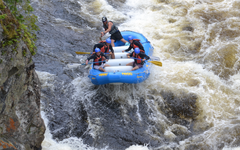 White Water Rafting, Maine
