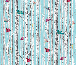 Bird Song Peel and Stick Wallpaper MD40912